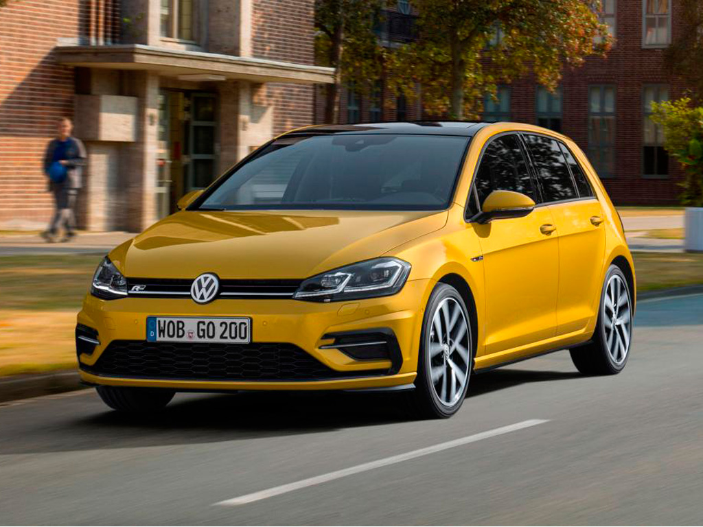 чехлы на сиденья из экокожи Volkswagen Golf 7 2013-н.в.